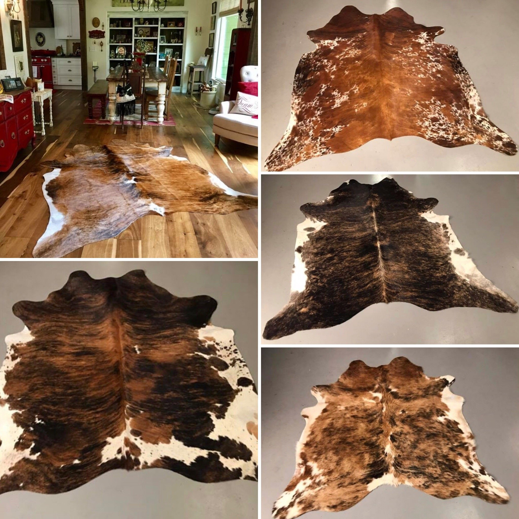 Brindle Cowhides