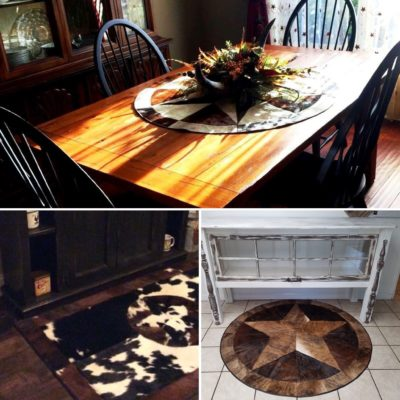 Accent Cowhide Rugs