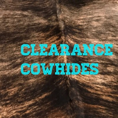 Clearance Cowhides